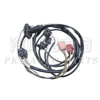 Motorcycle wire harness
